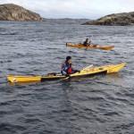 Paddling Dyrön Hakefjorden