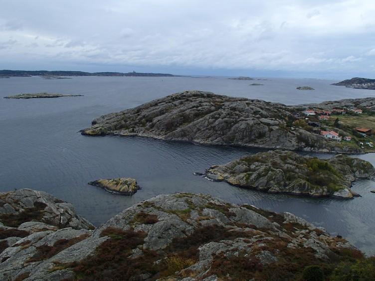 Utsikt från Hättans lotsutkik