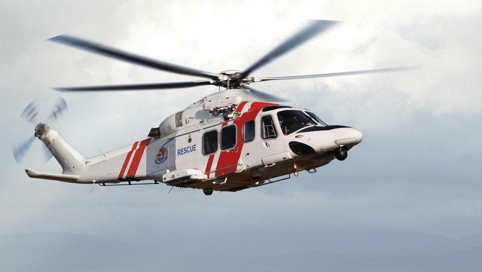 Räddningshelikopter AW139 på Sjöfartsverket