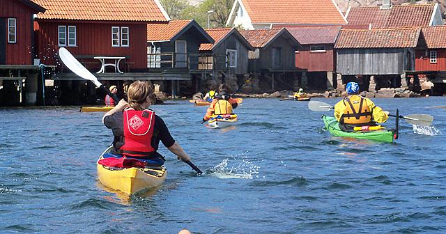 Paddling Kornö Bohuslän