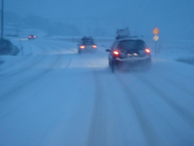 Vinterpaddling bilresa