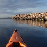 paddling snöpoesi bohuslän