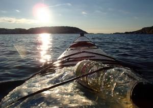 paddling vinter bohuslän