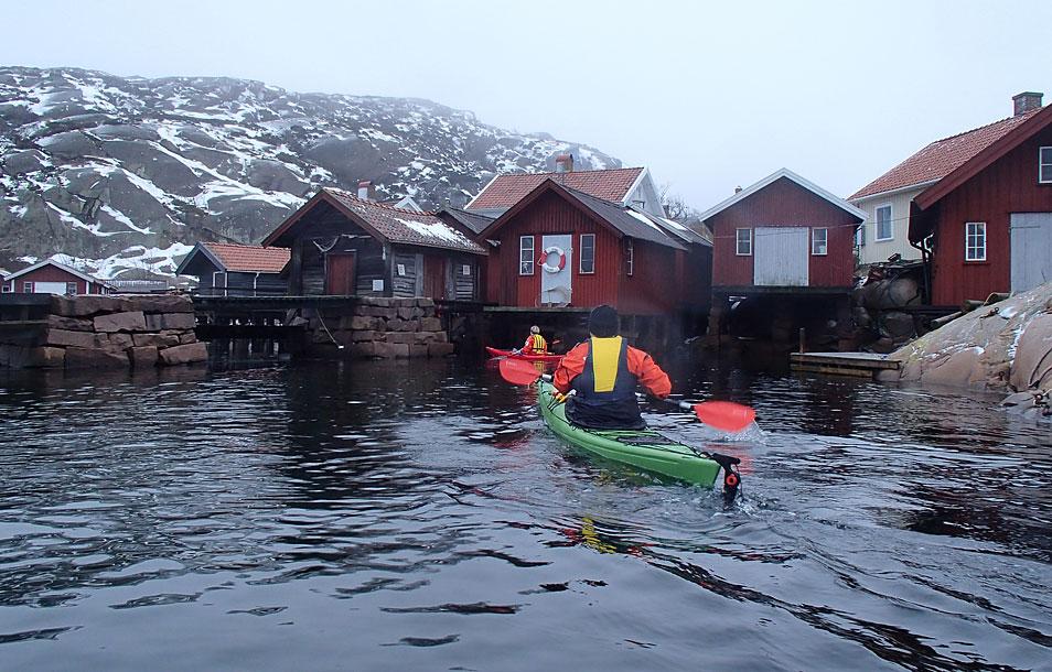 Vinterpaddling Bohuslän Lilla Kornö