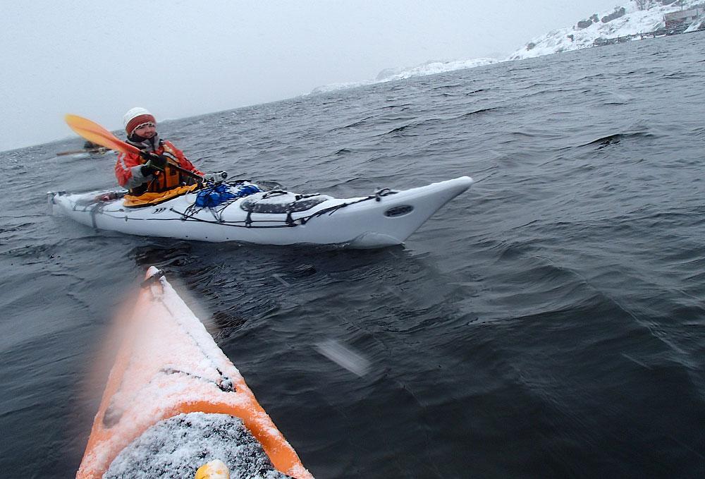 Vinterpaddling i Bohuslän
