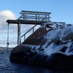 Vintertrampolin bohuslän