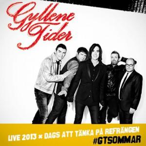 Gyllene Tider turnerar 2013