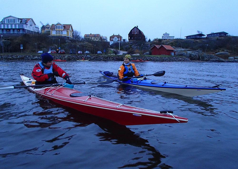 Paddling Fiskebäckskil Bohuslän