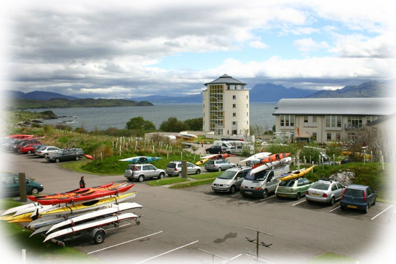 Scottish Sea Kayak Symposium venue