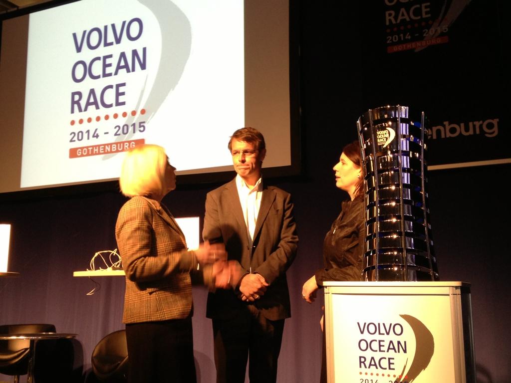 VOR:s VD Knut Frostad i samtal med Anneli Hulthén från Göteborg Stad och Camilla Nyman från Göteborg & Co.