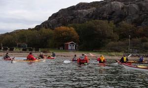 Paddling Bohuslän Hunnebostrand