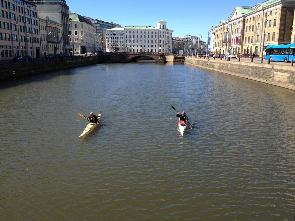 Göteborg by water
