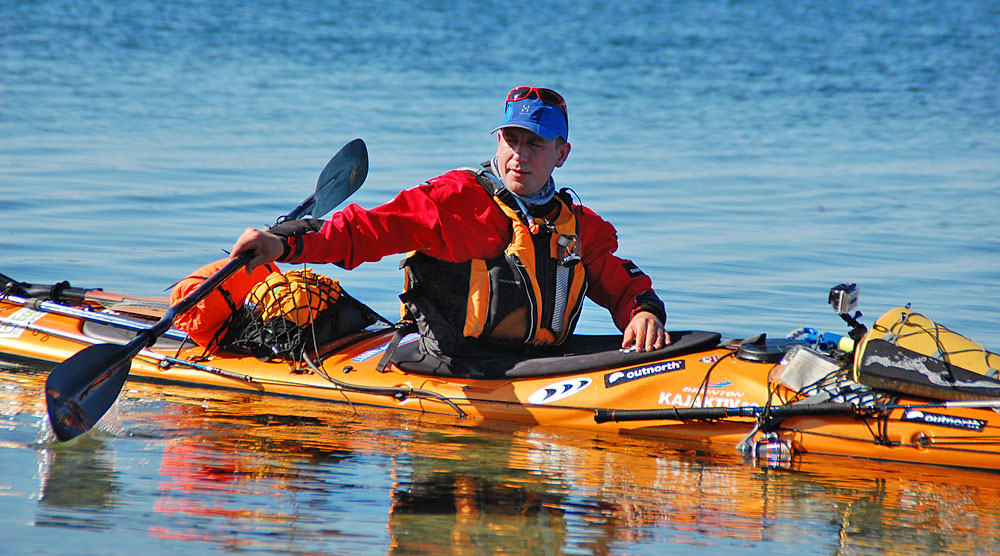 Sören Kjellqvist Norgeexpedition start