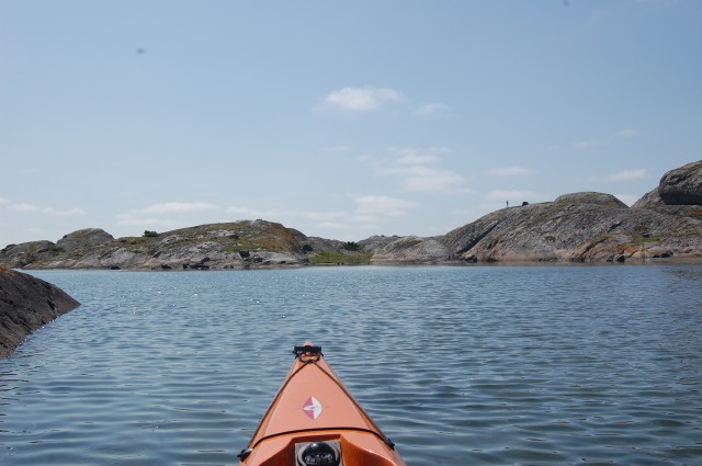 Arholmen Koster paddling