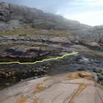 Nv-viken paddelränna vid lågvatten