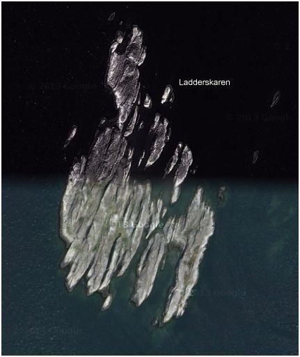 Lådderskären satellitbild