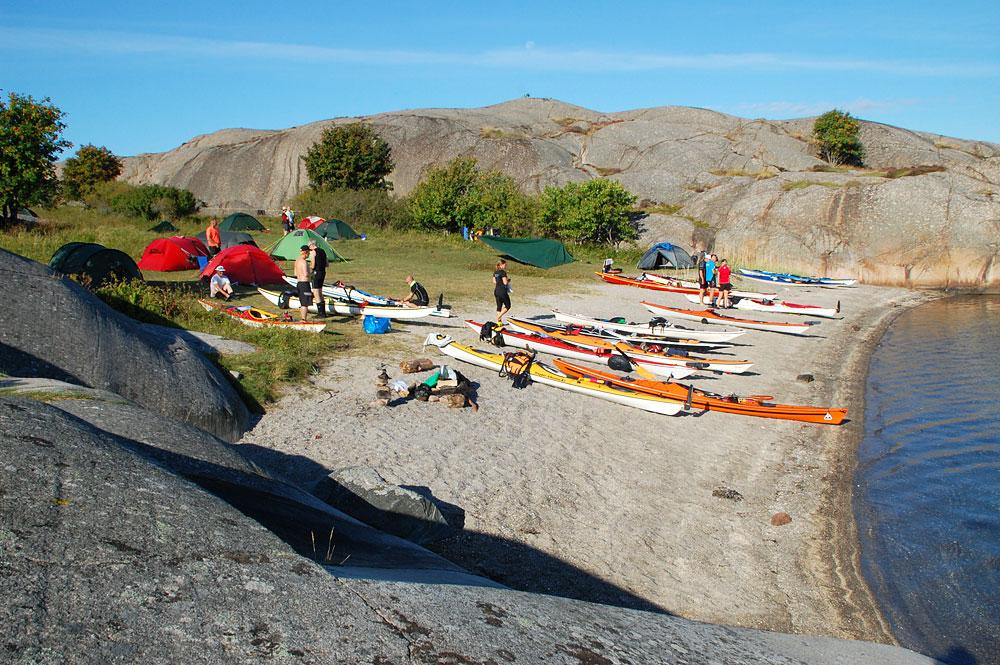 Porsholmen paddling Fjällbacka skärgård