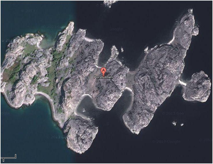 Porsholmen vid Fjällbacka