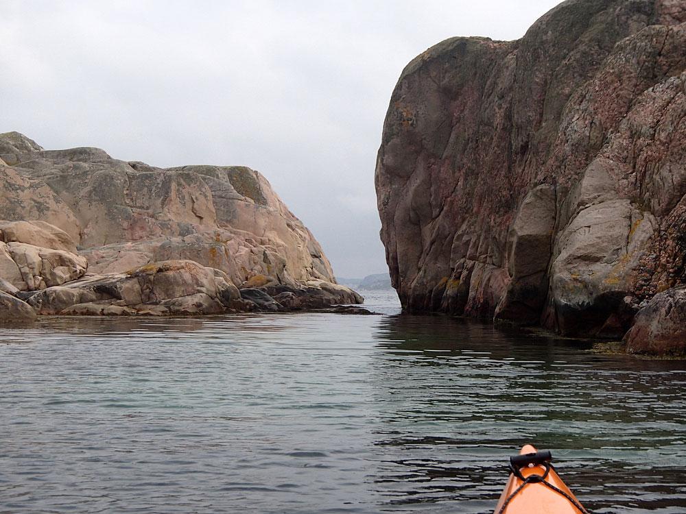 Tveklyftan paddling Fjällbacka skärgård