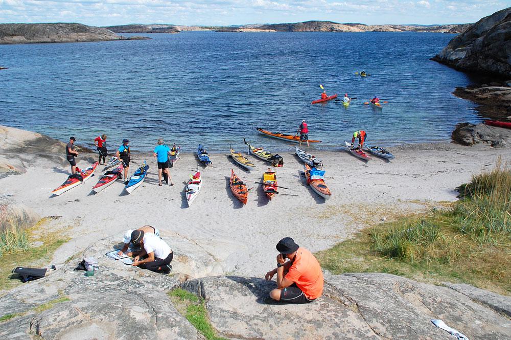 Vedholmen paddling Fjällbacka skärgård