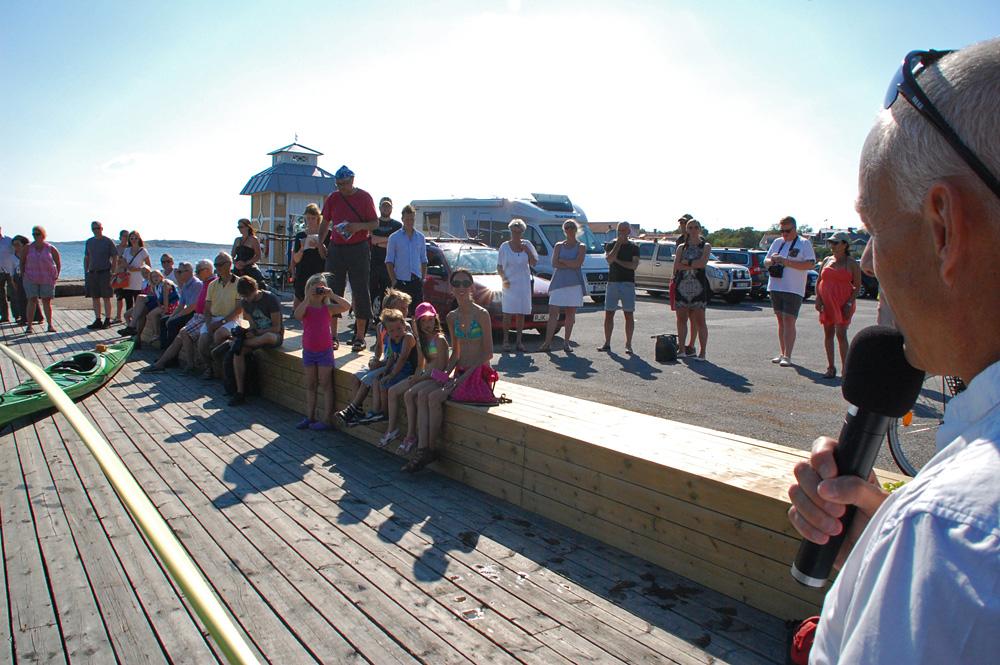 Lysekil kajakhamn kajakförvaring havsbadet släggö