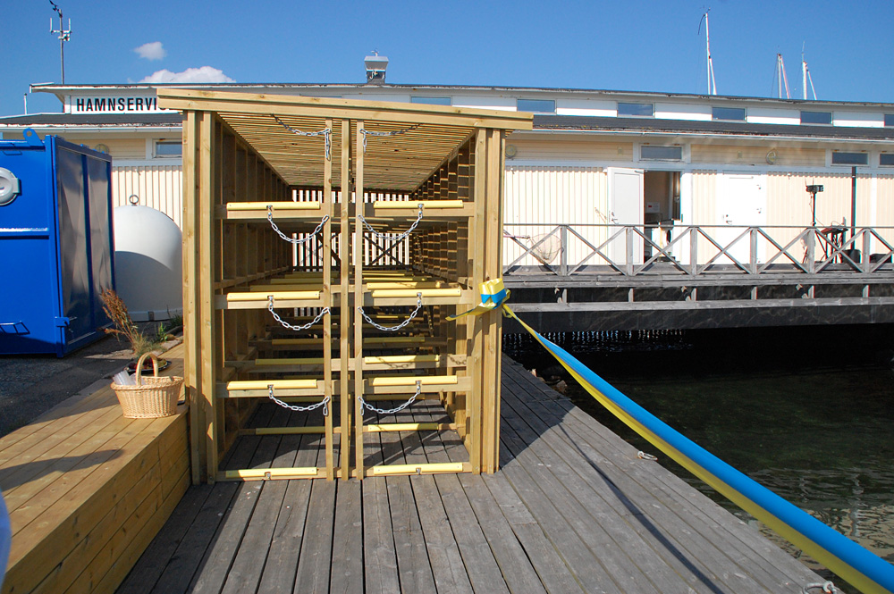 Lysekil kajakhamn kajakförvaring havsbadet