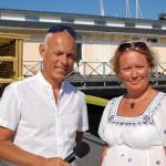 Johan Engström och Cia Lantz