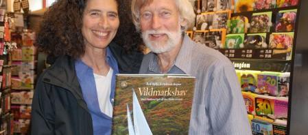 Boken Vildmarkshav med författarna Rolf Bjelke och Deborah Shapiro
