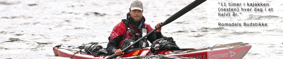 Erik Jørgensen paddlar Skandinavien Runt