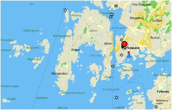 kyrkesund karta Isättningsplats Kyrkesund | Kajakrapporten kyrkesund karta