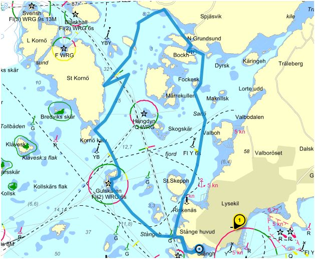 grundsund karta Ut och njut! | Kajakrapporten grundsund karta