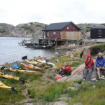 Dyngön i Fjällbacka skärgård paddling