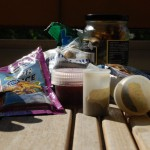 Packbestyr inför friluftsturen