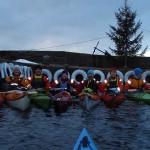 Jul paddling Bohuslän