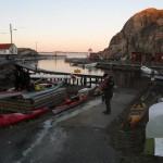 Skalhamn hamn paddling