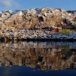 paddling bohuslän snöpoesi