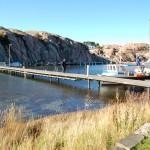 Lilla Kornö bron i hamnen
