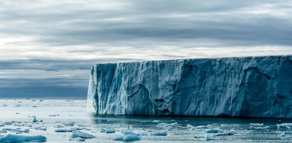 Glacier Svalbard Photo: Jens Wikström